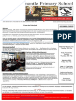Newsletter Issue 1, 5th Feb 2014