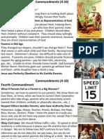 Commandments (4 to 10)