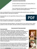 Sacraments & Sacramentals
