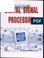 49124879 Digital Signal Processing by Ramesh Babu c Durai