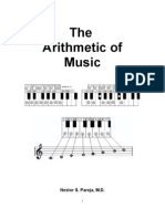 The Arithmetic of Music by Nestor S. Pareja