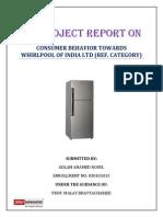 Wherloop projectreportonconsumerbehaviour123-121010005946-phpapp02