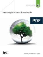 BSI Sustainable Business Manual
