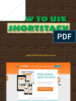 How to Use Shortstack