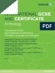 Anthology Edexcel Igcse English Language