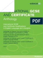 Anthology Edexcel Igcse English Language