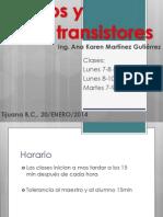 Plan de Trabajo Diodos y Transistores Unidad i Rev 1mnkkmk