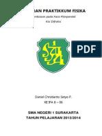 Laporan Praktikum 18 September 2013
