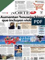 Periódico Norte edición impresa día 7 de febrero 2014