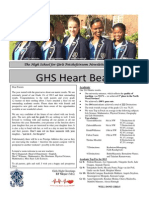 GHS Newsletter 1 - 31 January 2014