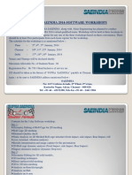 Supra Saeindia 2014 Software Workshop