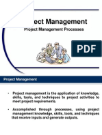 PM Chapter 04 Project Management Processes