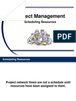PM Chapter 09 Scheduling Resources