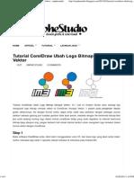 Tutorial CorelDraw Ubah Logo Bitmap