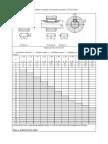 STAS 1004-81 Dimensiunile Nominale Ale Penelor Paralele