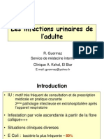 pr_ r_Guermaz. Infections urinaires de l'adulte.ppt