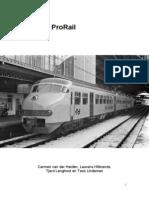raport prorail
