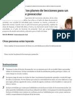 Cómo organizar los planes de lecciones para un salón de clases de preescolar _ eHow en Español.pdf