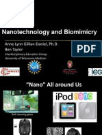 Nanotechnology and Biomimicry UW MRSEC Powerpoint