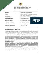 013 Análisis Art.31 de la Ley 812- Plan Nacional de Desarrollo