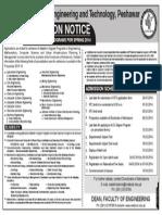 M.sc Admission Spring-2014 20-01-2014