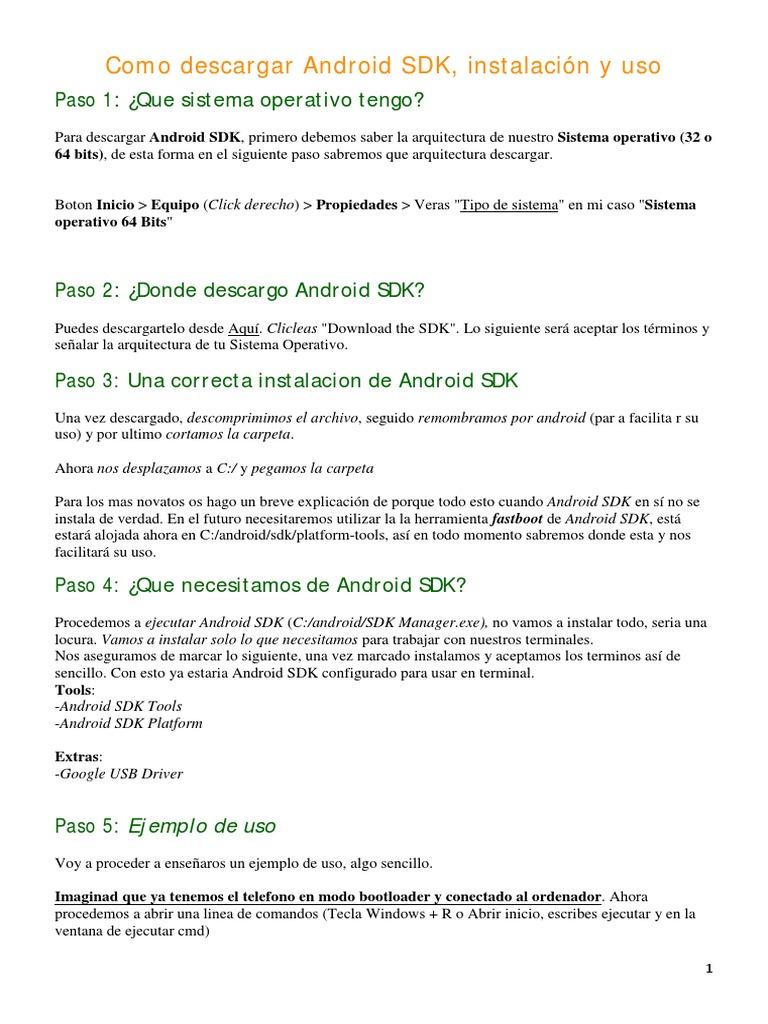 Manual Android SDK pdf   Copia de seguridad   Android (Sistema