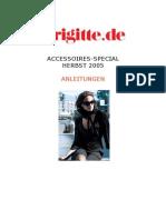 Accessoires-special Strickanl 20 05