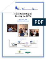 Report - Third GNN Development Workshop