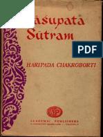 Pasupata Sutram - Haripada Chakroborti