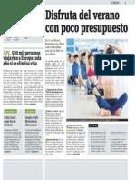 Consejos de Atrápalo Perú para viajar con poco presupuesto en verano - diario Publimetro