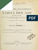 YahyaIbnAdi_petitsTraitsApologtiques_1920