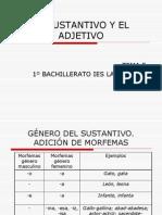 EL SUSTANTIVO Y EL ADJETIVO.ppt