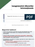 Managementul Afacerilor Internationale