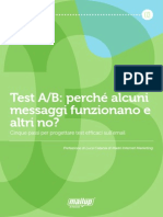 MailUp eBook 03-Test Ab Messaggi Che Funzionano