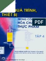Các quá trìnhthiết bị trong công nghệ hóa chất và thực phẩm 4- Nguyễn Bin.pdf