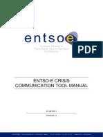 ENTSO-E CCT Tool Manual (Version 110806)