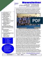 Newsletter 7 Feb 14