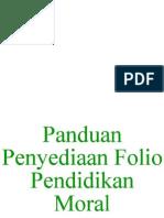 Panduan Penyediaan Folio Pendidikan Moral