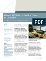 Siemens PLM Coastal KZN College Tooling Centre of Excellence Cs Z5