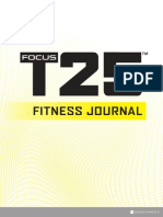 T25 Fitness Journal