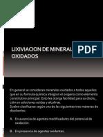 Lixiviacion de Minerales Oxidados Ookoko