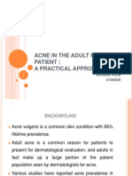 Acne in the Adult Female Patient a Practical