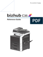 Konica Minolta Bizhub C35 Reference Guide