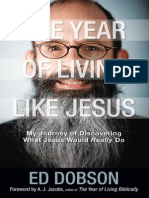 The Year of Living like Jesus by Ed Dobson, Chapter 1