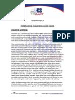 English Belonging Sample Creative and Skryznecki Essay1