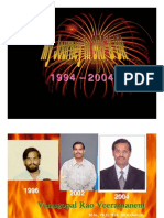 My Dr Reddy's Days 1994 - 2004