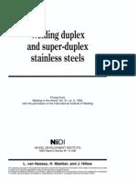 welding Duplex