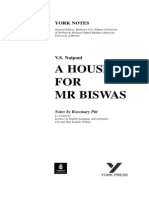 House for mr Biswas notes.pdf