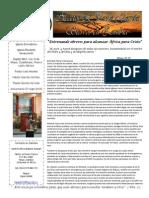 Carta Misionera Enero 2014