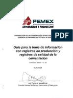 1.- Pemex Registros de Produccion y cementacion.pdf